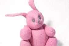 Makerist - Pink Felt Bunny  - 1