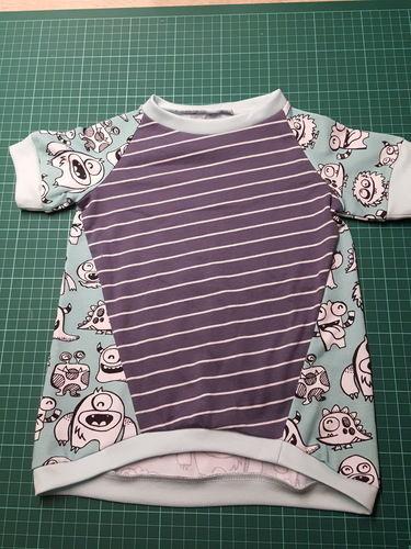 Makerist - Mal ein Shirt der andren Art - Nähprojekte - 1