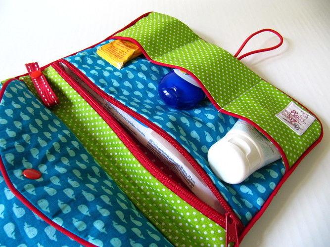 Makerist - Kleine Windeltasche mit ganz viel Stauraum - Nähprojekte - 3