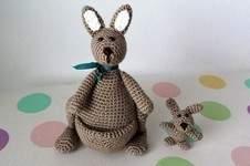 Makerist - Känguruh Mama mit Baby - Nr. 2 - 1