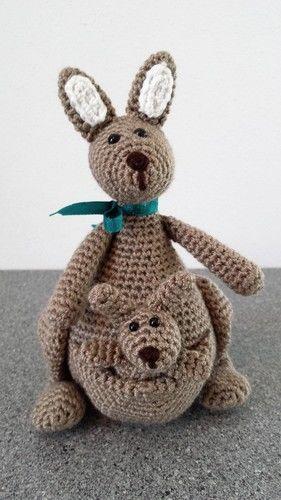 Makerist - Känguruh Mama mit Baby - Nr. 2 - Häkelprojekte - 2