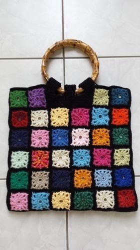 Makerist - Tasche zur Resteverwertung - Häkelprojekte - 2