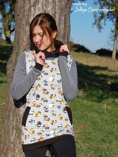 Makerist - Geliebte Waschbären für den Herbst - Nameless Hoodie - Nähprojekte - 3
