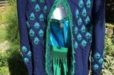 Makerist - Trachtenweste in Blau - 1