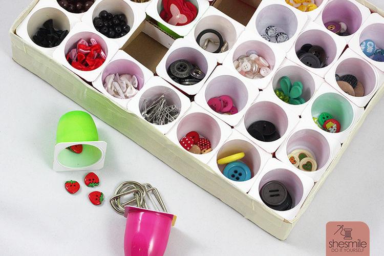 Makerist - Setzkasten aus Joghurtbecher - DIY-Projekte - 1