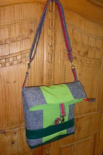 Makerist - meine erste und zweite Kuriertasche Little Lilou - Nähprojekte - 1