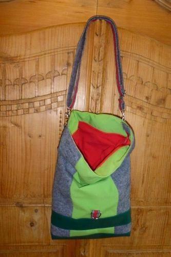 Makerist - meine erste und zweite Kuriertasche Little Lilou - Nähprojekte - 2