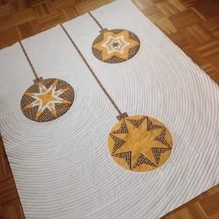 Makerist - Weihnachtsquilt - Kreise auch für andere Jahreszeiten :) - 1