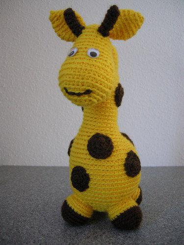 Makerist - Gigi Giraf - Häkelprojekte - 1