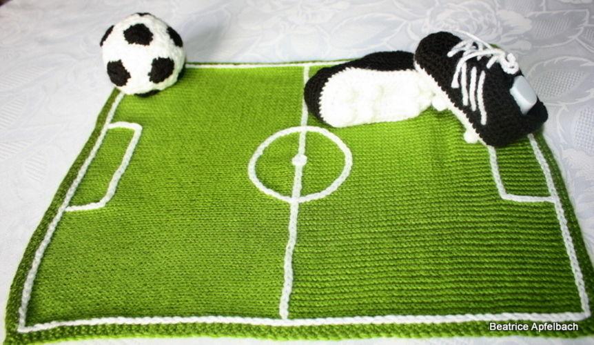 Makerist - Baby-Fußballschuhe - Häkelprojekte - 3