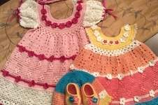 Makerist - baby josie summer dress, hat, headband and booties - 1