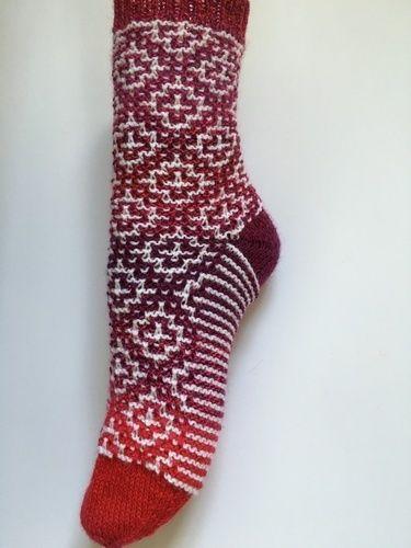 "Makerist - Socken ""Mosaik"" - Strickprojekte - 1"
