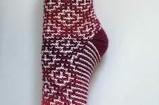 """Makerist - Socken """"Mosaik"""" - 1"""