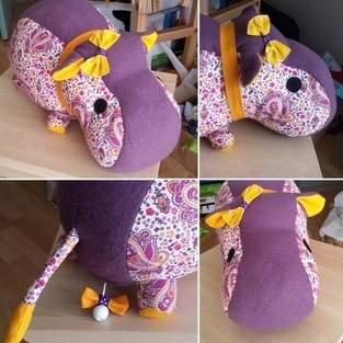 Makerist - Hippo (tuto rhino) avec boîte à musique. - 1