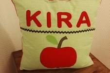 Makerist - Kissen Apfel - 1