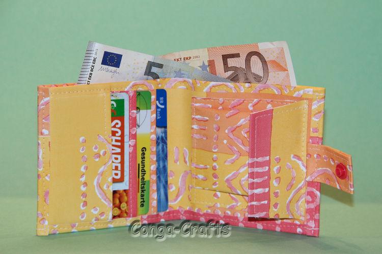Makerist - Geldbeutel aus Wachstuch  - Nähprojekte - 2
