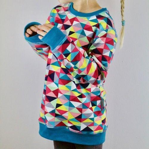 Makerist - Lütje Sweater für meine große Tochter - Nähprojekte - 1