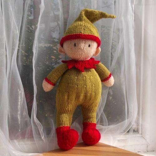 Makerist - Elliot Elf - Knitting Showcase - 1