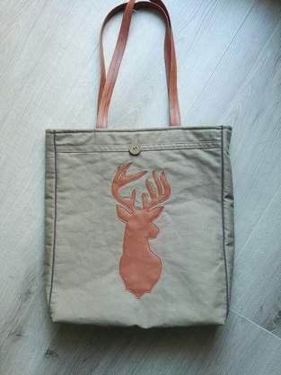 Makerist - Tasche Hirsch - 1