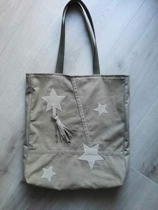 Makerist - Tasche Grün/Beige  - 1