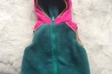 Makerist - Lille Wooldlöper aus Cord, Fleece und Softshell für mein kleines Mädchen in Größe 80 - 1