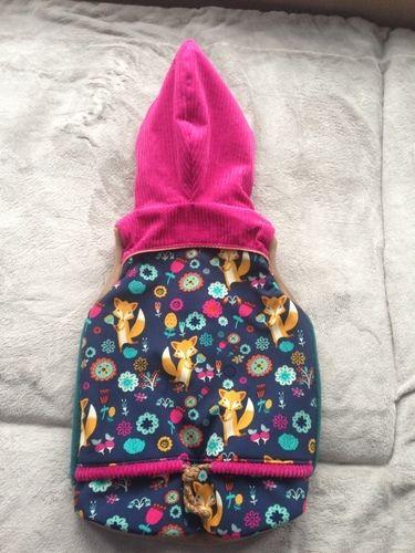 Makerist - Lille Wooldlöper aus Cord, Fleece und Softshell für mein kleines Mädchen in Größe 80 - Nähprojekte - 2