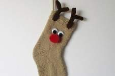 Makerist - Reindeer Stocking - 1