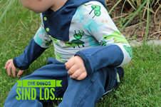 Makerist -  Herbstoutfit – Kapuzenshirt und Hose für freche Buben - 1