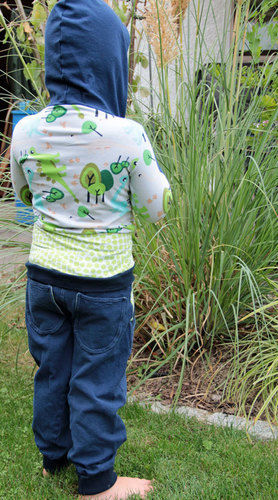 Makerist -  Herbstoutfit – Kapuzenshirt und Hose für freche Buben - Nähprojekte - 2