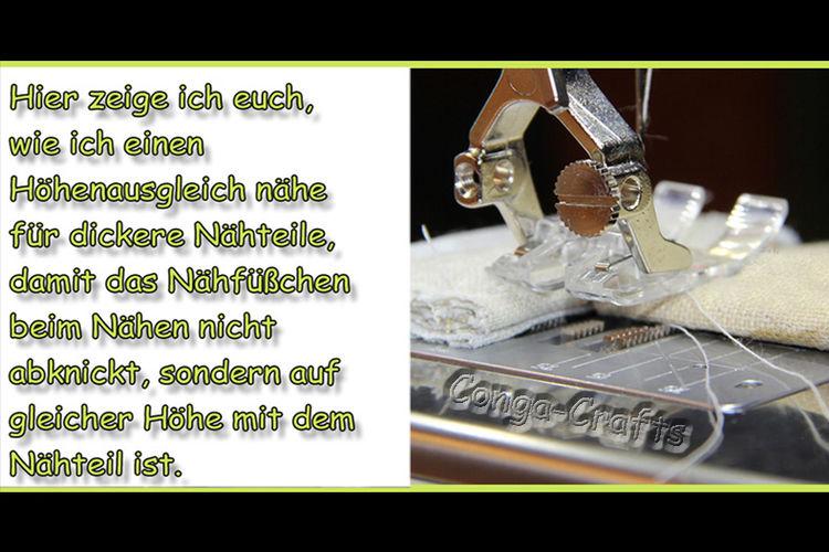 Makerist - Höhenausgleich bei dicken Stoffteilen selber machen - DIY-Projekte - 1