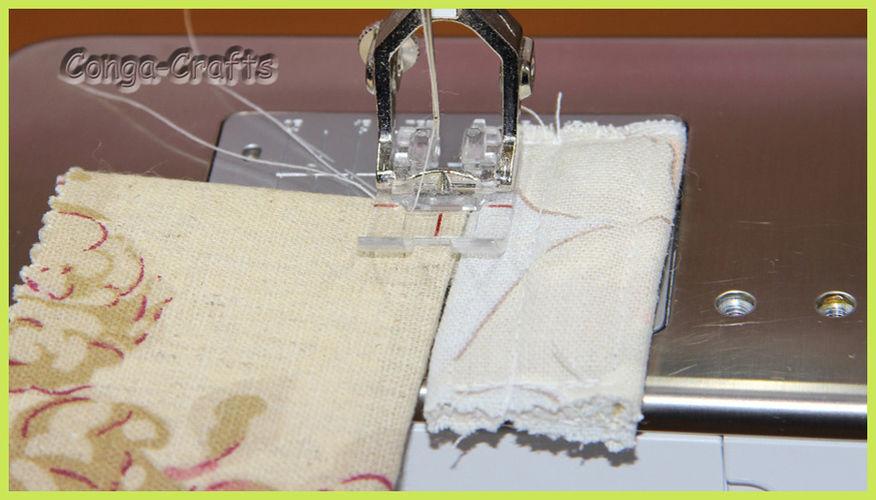 Makerist - Höhenausgleich bei dicken Stoffteilen selber machen - DIY-Projekte - 3