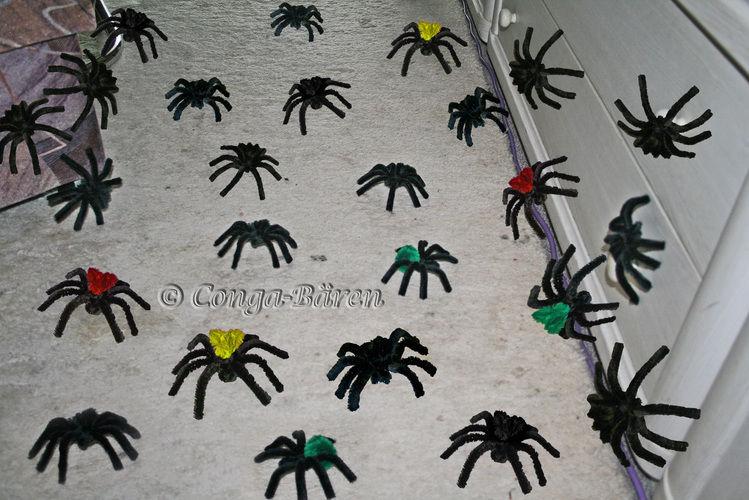 Makerist - Halloween-Spinne, knuddelig aus Pfeifenputzer/Chenilledraht - DIY-Projekte - 3