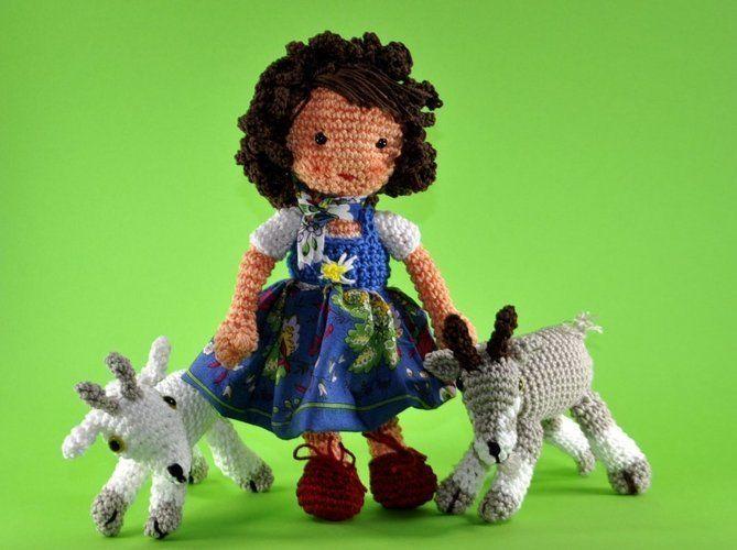 Makerist - Puppe Heidi Amigurumi Häkelanleitung - Häkelprojekte - 1