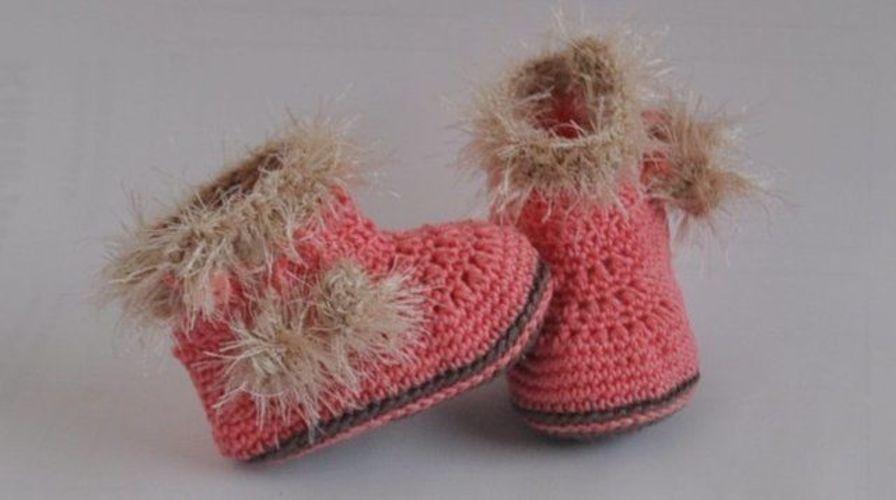 Makerist - Babyschuhe Eskimo Häkelanleitung - Häkelprojekte - 1