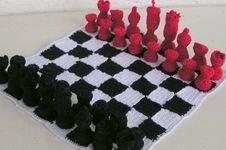 Makerist - Schachspiel Modern Häkelanleitung - 1