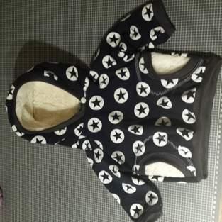 Makerist - Pullover Gr. 62 aus dem buch nähen mit Jersey kinderleicht  von klimperklein - 1