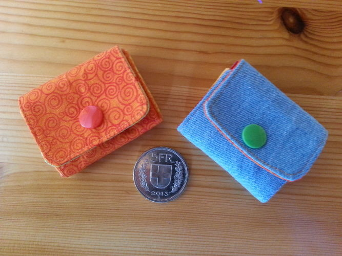 Makerist - Mini-Portemonnaie für Notgroschen - Nähprojekte - 1