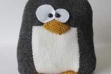 Makerist - Penguin Cushion - 1
