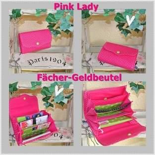 """Makerist - Geldbeutel """"Pink Lady"""" - 1"""