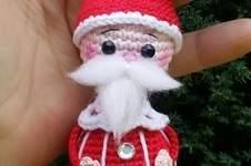 "Makerist - Amigurumi "" Santa Klausi "" 11 cm Groß - 1"