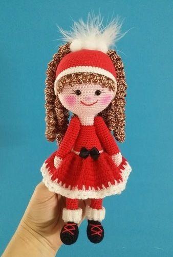 "Makerist - Amigurumi Puppe "" Nikolinchen "" 22 cm Groß - Häkelprojekte - 1"