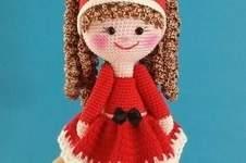 "Makerist - Amigurumi Puppe "" Nikolinchen "" 22 cm Groß - 1"