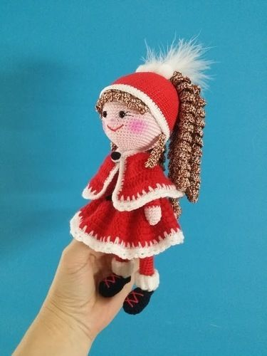"Makerist - Amigurumi Puppe "" Nikolinchen "" 22 cm Groß - Häkelprojekte - 3"