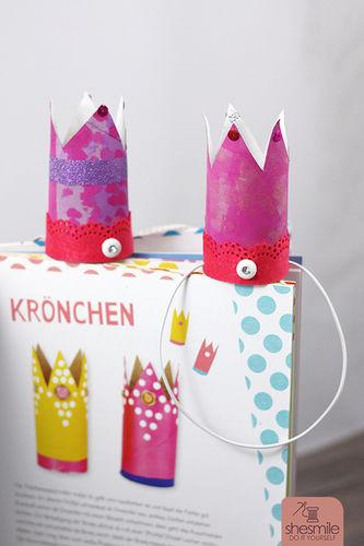 Makerist - Krönchen aus Klorollen - DIY-Projekte - 1