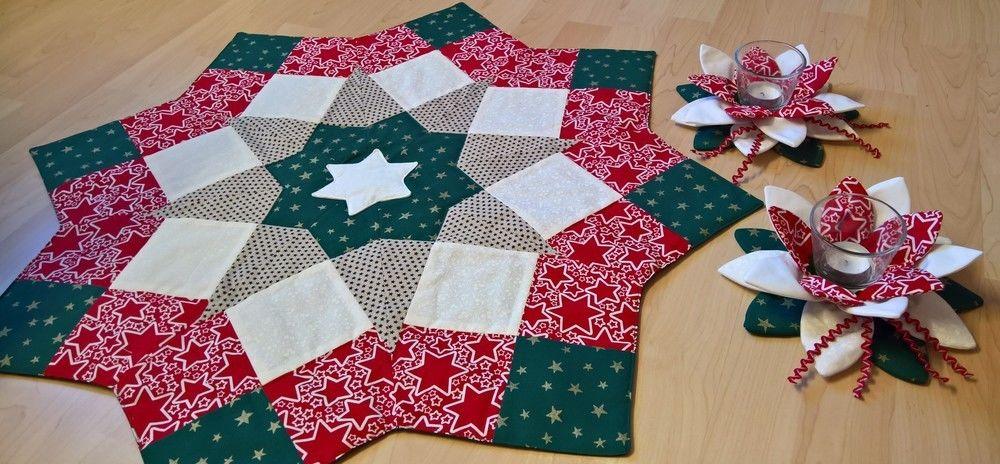 Makerist - Weihnachtsdecke mit passender Deko - Nähprojekte - 1