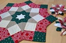 Makerist - Weihnachtsdecke mit passender Deko - 1