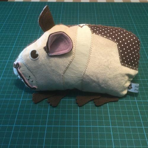 Makerist - Meerschweinchen als Knistertier - Nähprojekte - 1