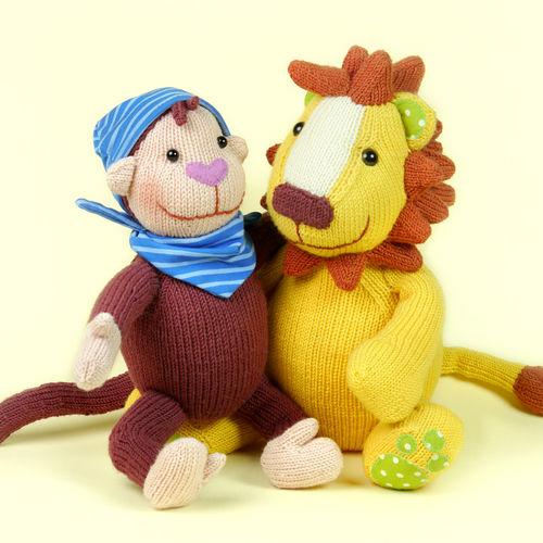 Makerist - Lille und Löwe, die Kinderbuchhelden - Strickprojekte - 1