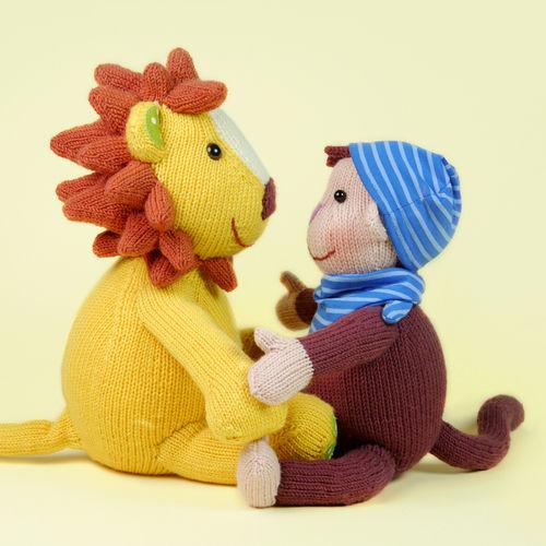 Makerist - Lille und Löwe, die Kinderbuchhelden - Strickprojekte - 2