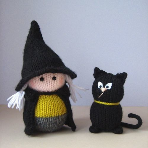 Makerist - Wanda the Witch - Knitting Showcase - 1